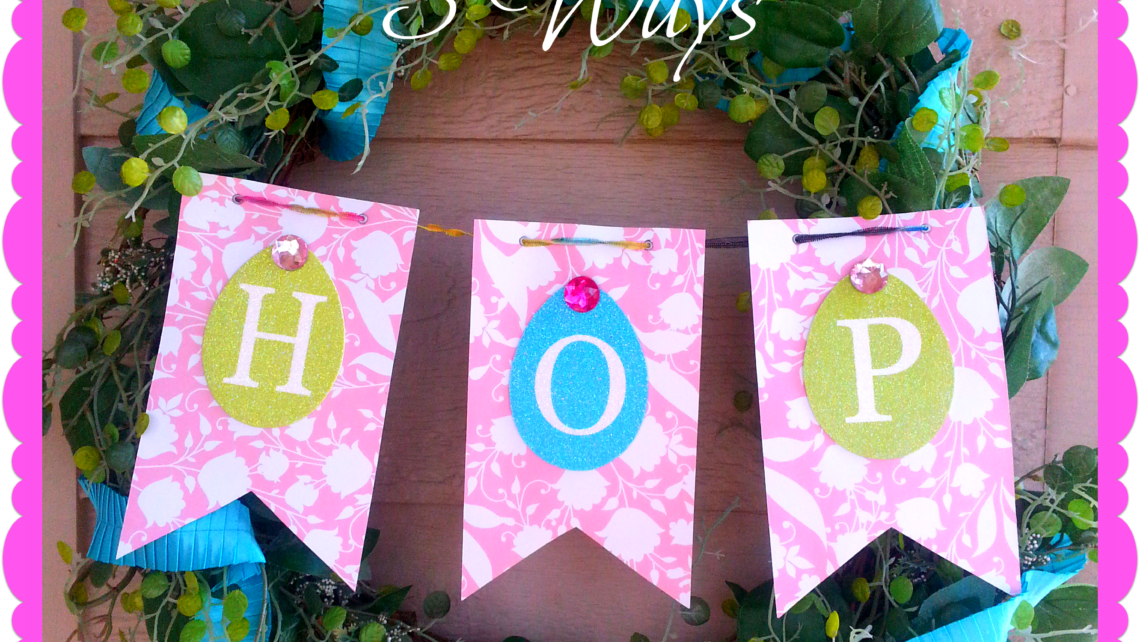 Spring Wreath: 3 quick variations