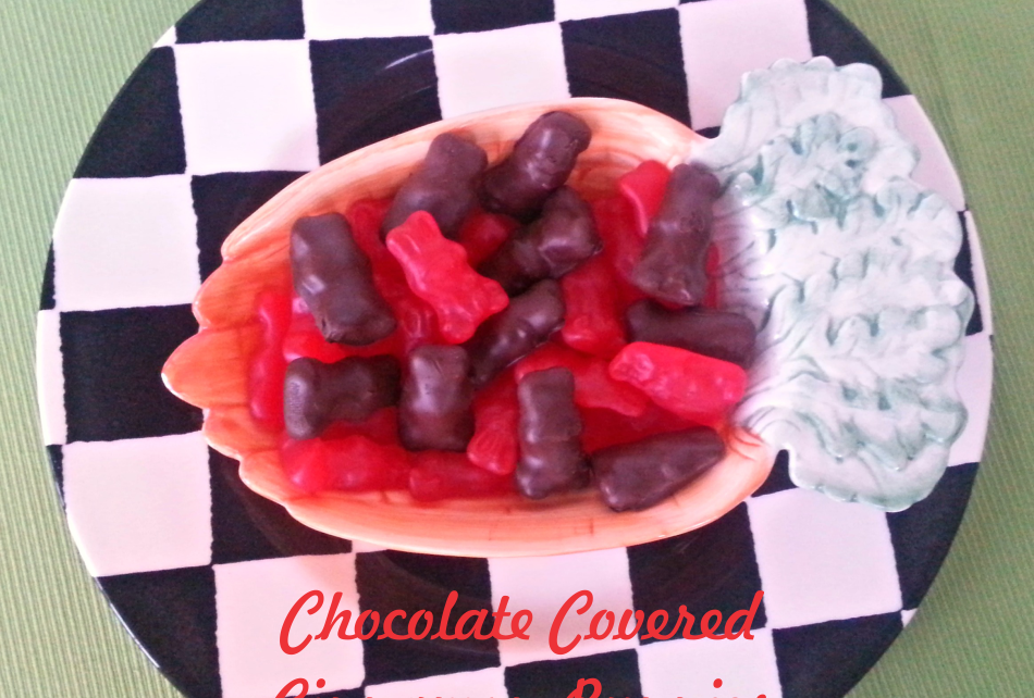 chocolate covered cinnamon Easter bunny candy