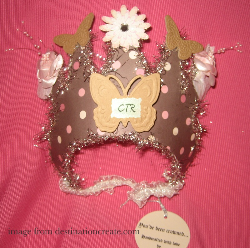 CTR crown- great baptism gift.