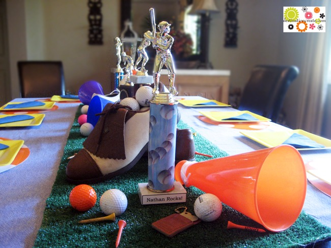 Sports Theme Birthday Party