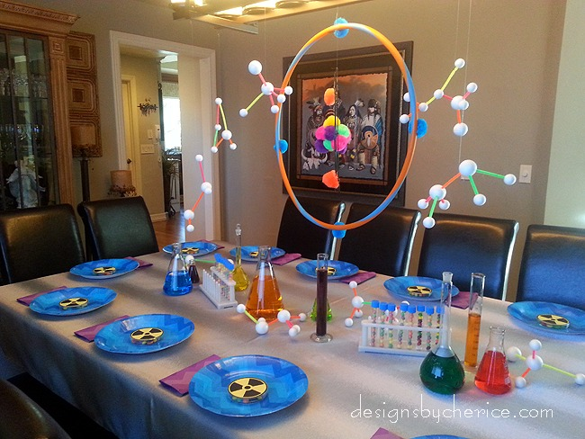 Mad Scientist Birthday Party Destination Create