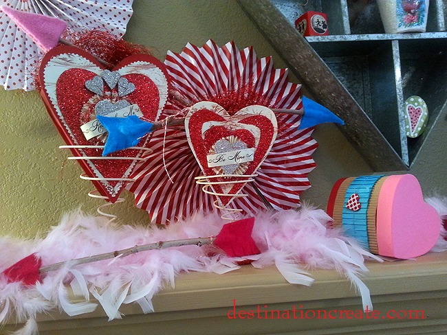 Valentine S Day Mantel Destination Create