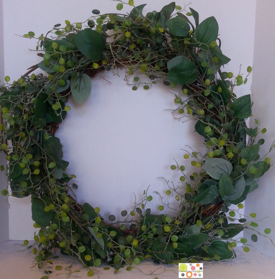 Spring wreath base