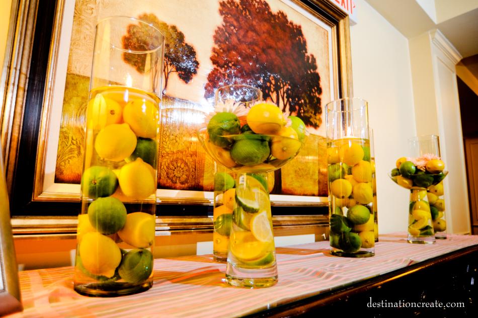 Wedding Decor Rentals Denver- clear glass vase
