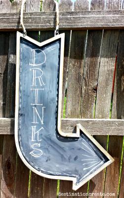 Vintage Wedding Rentals Denver-signs