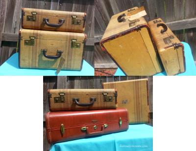 Vintage Wedding Rentals Denver-luggage