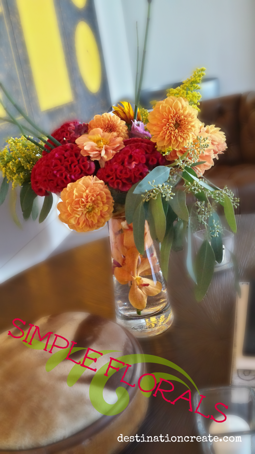 Simple flower arrangement ideas
