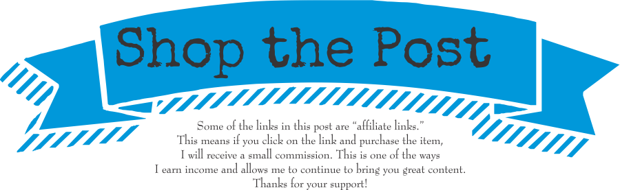 shop the post & disclosure- sky blue