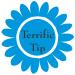 Terrific Tip icon- sky blue