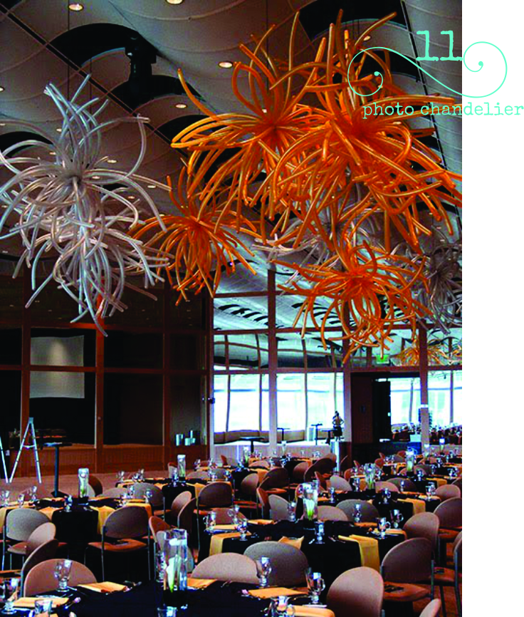 I'm dying to have the perfect event to use this amazing balloon decor idea. Check out these amazing balloon chandeliers