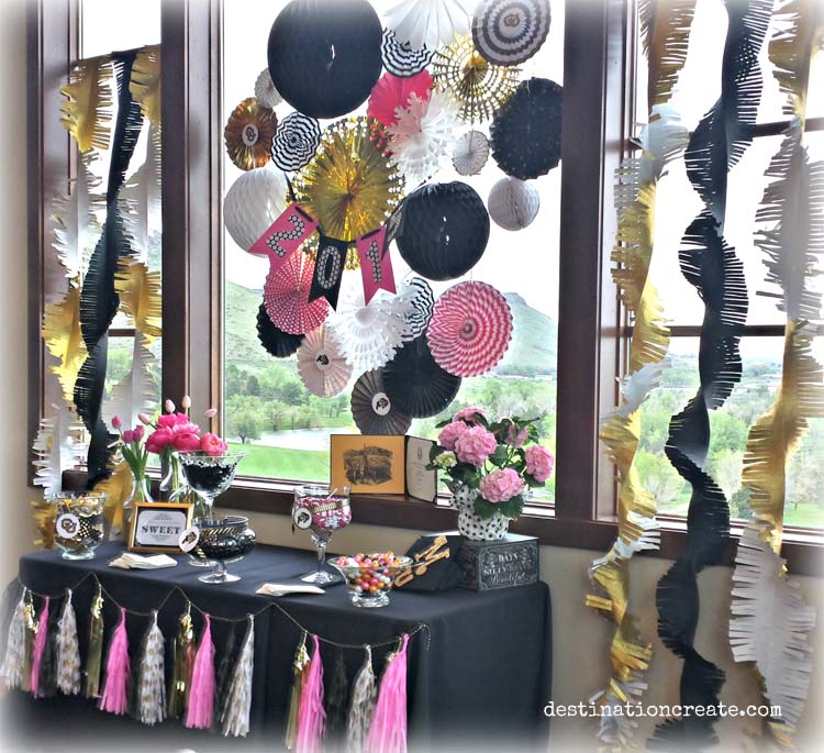 3 party favor table ideas. Nothing like a candy buffet to get party guests smiling