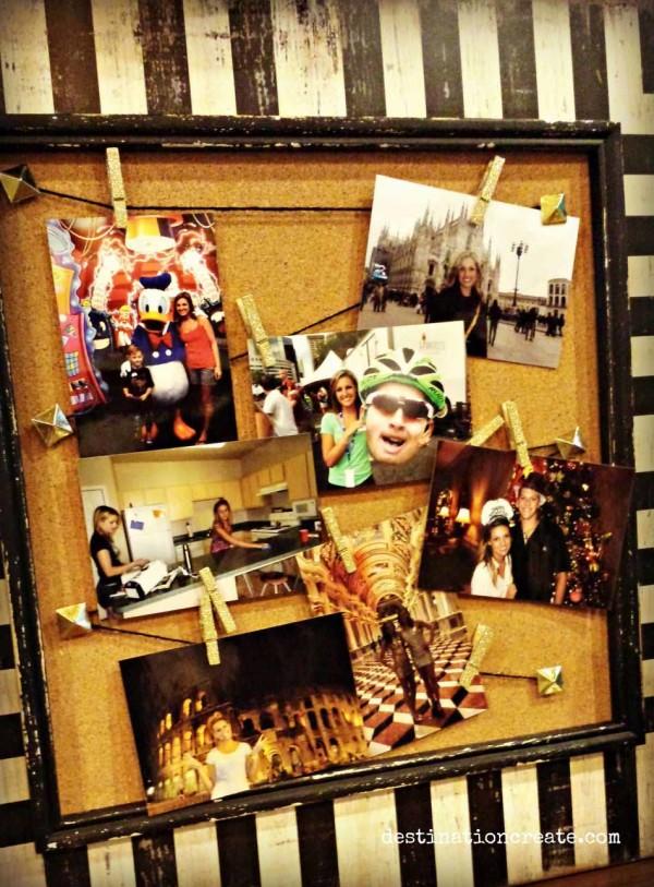 grad party photo display ideas