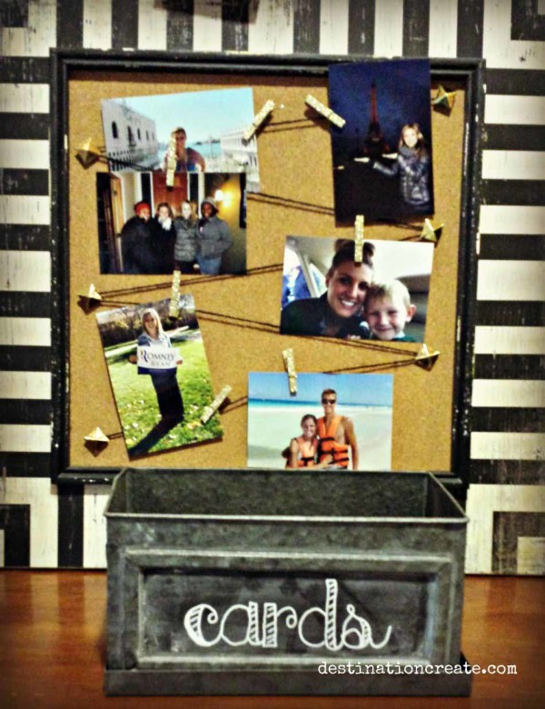 Easy Grad Party Photo Display