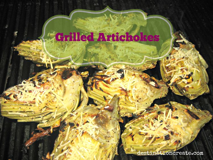 Grilled Artichokes- Delicious!