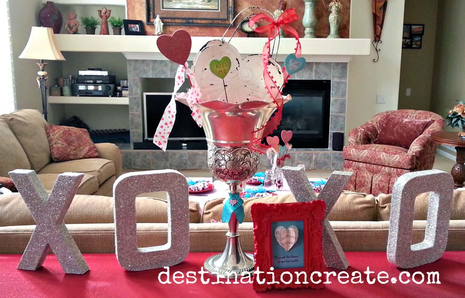 Valentine Decorating ideas for luncheon, brunch and birthday party