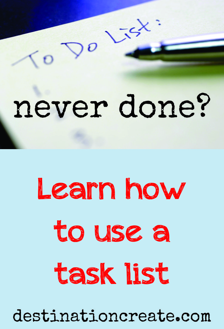 To-Do Lists…Never done?